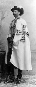 Эрцгерцог Евгений в одеянии гроссмейстера Немецкого ордена