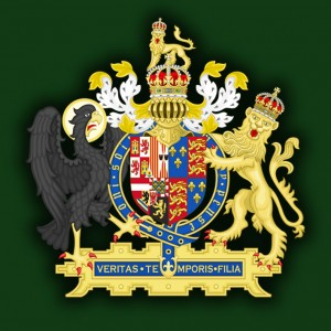 Герб Королевства Англия (1554-1558)