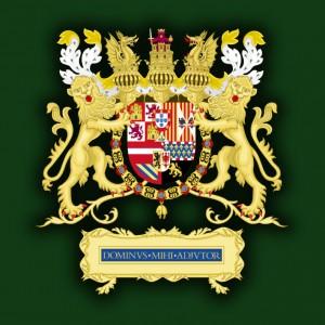 Большой герб владений Филиппа II Испанского (1580-1598)