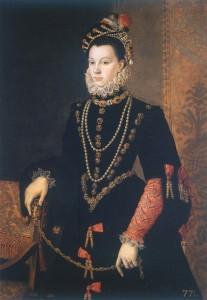 Хуан Пантоха де дя Круз «Елизваета Валуа» (1605)