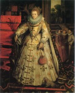 Маркус Герартс (Старший) «Елизавета I Английская» (между 1580 и 1585 гг.)