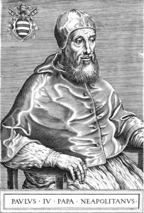 Папа Павел IV (1476-1559)