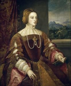 Тициан «Императрица Изабелла Португальская» (1548 г., Музей Прадо)