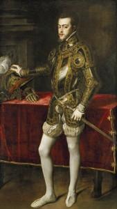 Тициан «Портрет Филиппа II Габсбурга» (1551 г., Музей Прадо)