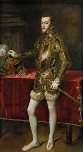 Тициан «Портрет Филиппа II Испанского» (1527–1598)