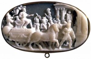 Триумфалъный поход Филиппа II. Доменико Романо, XVI в.