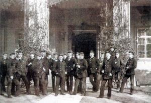 Четвертий курс морської академії (1891)