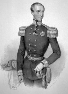 Ерцгерцог Фердинанд Макс фон Остеррайх (Йозеф Кріхубер, 1854 р.)
