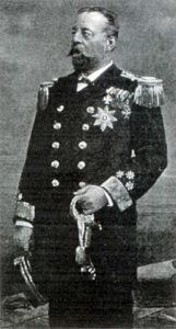 Командувач Військово-морським флотом в 1883-1897 рр. адмірал Макс фон Штернек (1890)