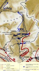 Відхід XXVI корпусу 3-4 листопада 1918 р.