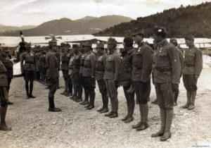 Імператор та король Карл вітає «франців» Італійського фронту